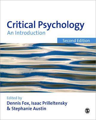 Critical Psychology By Fox, Dennis (EDT)/ Prilleltensky, Isaac (EDT)/ Austin, Stephanie (EDT)